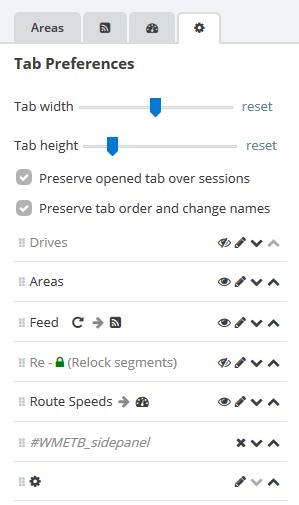 Tab Manager tab rearrangement